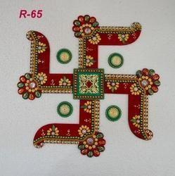 New Swastik Rangoli
