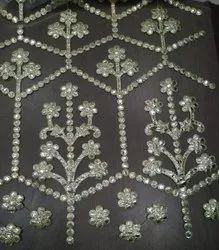 Computer Embroidered Fabric