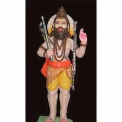 Lord Parshuram Marble Statue