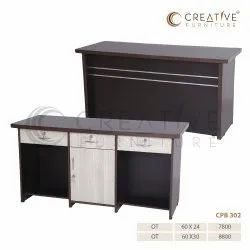 Creative Furniture ENGINEER WOOD Office Table, Size: 60 X 24 & 60 X 30