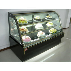 Stainless Steel And Glass Pastry Display Counter