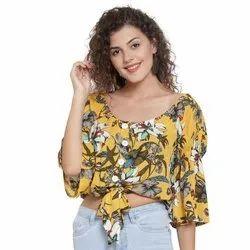 Ladies Short Tunic Printed Top