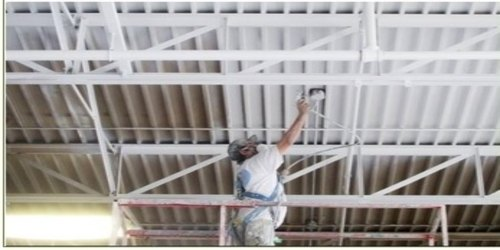Industrial Ceiling Painting, Location Preference: Local Area, Paint Brands Available: Asian Paints