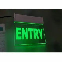 Entry LED Signage