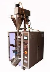 Automatic Collar Type FFS Machine With Servo Auger Filler