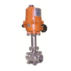 Electrical Actuator Operated Extended Stem Ball Valve