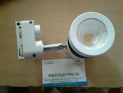 Warm White Round Tracking spot lights, Model Name/Number: Pace 9 Watts Track, Base Type: Ceiling Mounting