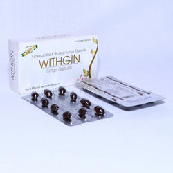 Withgin Cap -Ashwagandha with Ginseng Softgel Capsule