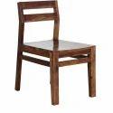 Campinas Solid Teak Wood Chair