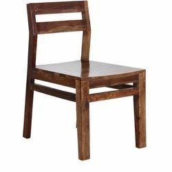Brown Campinas Solid Teak Wood Chair