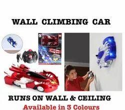 Blue & Red Kids Wall Climber Car