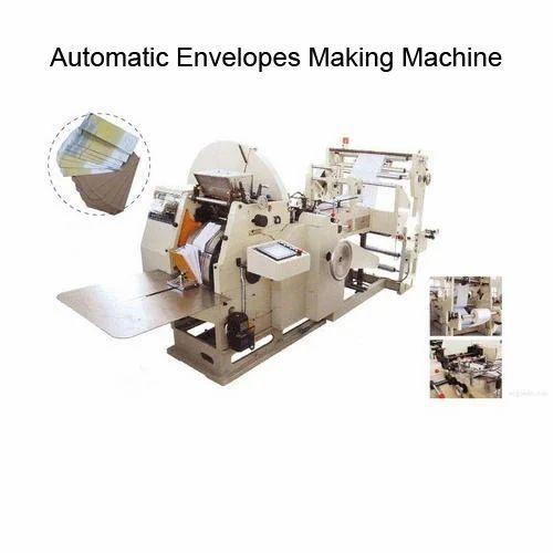 Envelopes Automatic Making Machine Capacity 8000 Pieces