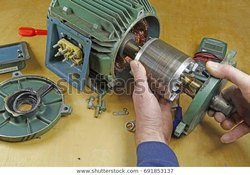 Three Phase Motor Repair