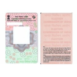 Election Voter PVC ID Card  Printing Mumbai / Ahmedabad