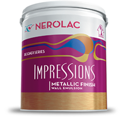 ImpressionsMetallic Finish Nerolac Emulsion Paints