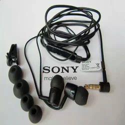 Black Sony Earphones, Sony MH-750