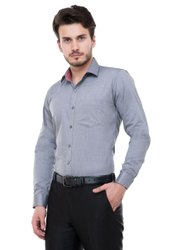 Siddh Creations Collar Neck Plain Cotton Shirts, Handwash, Size: 42.0
