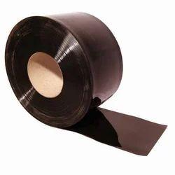 Plain Black PVC Strip Curtain Rolls