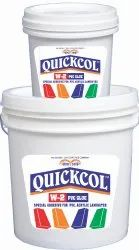 Quickcol W2 PVC Glue Special Adhesive, Packaging: Bucket & Packet