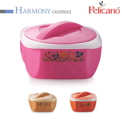 Metal And Plastic Many Colours Hrmony Casserole