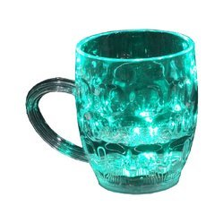 Automatic Lighting Glass Mug