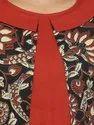 Yash Gallery Women's Cotton Cambric Kalamkari Printed Top