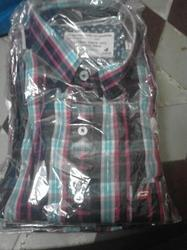 Printed Casual 100% Cotton Shirts, Size: 42