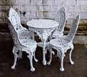Wrought Iron Patio Dining Sets for Restaurants