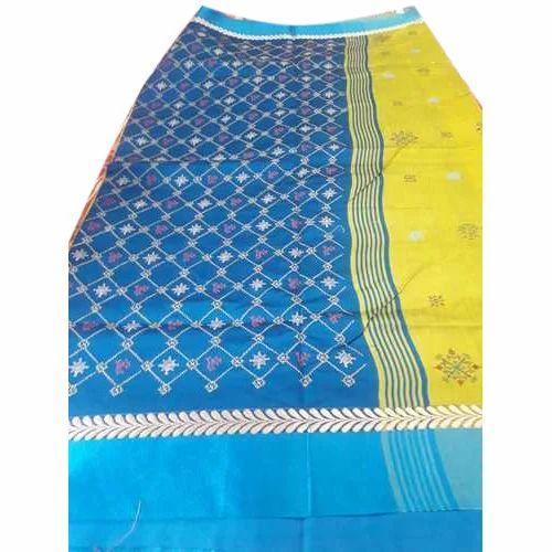 Kashida Silk Saree, 6 Meter