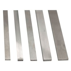 Hr And Cr Finish Silver SS Flat Bars, Size: 1-20 mm, for Industrial