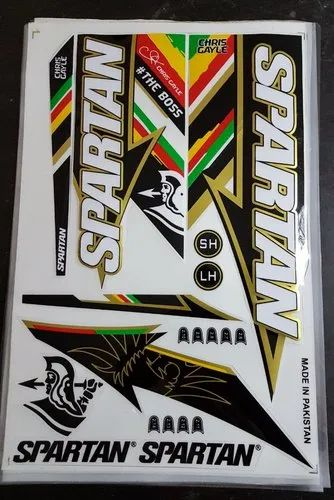 Cricket Bat Stickers Cricket Bat Sticker Manufacturer From Meerut