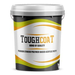 White Toughcoat Acrylic Polymer Putty, Packaging Type: Plastic Bucket