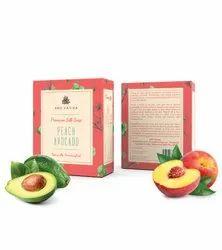 Aro Vatika Best Quality Peach Avocado Premium Silk Soap, 100g