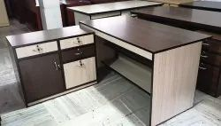 Office Table with Sideunit