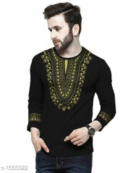 Cotton Casual Wear Stylish Mans Designer T Shirts
