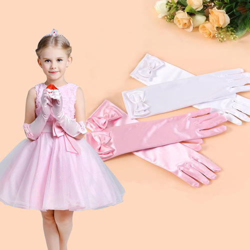 2663f6adb6ed Pink Silk And Cotton Baby Gloves