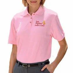 Pink Women's Polo T Shirts, Size: XL
