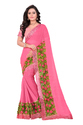 Women's Chiffon Saree With Blouse