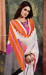 Apple Womaniya 14 Designer Bhagalpuri  Silk Saree Catalog Collection