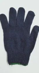 Cotton Knitted Gloves 80gms (Blue)