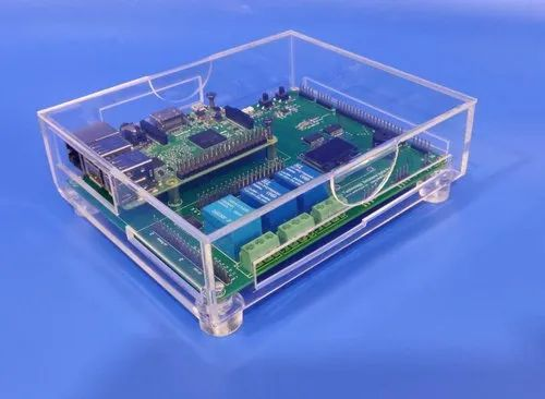 Acrylic Boxes and Strips for Electrical PCB Boards