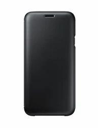 Black Samsung Galaxy J7 (2017) Wallet Cover