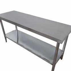 Galvanized Stainless Steel Rectangular Tables