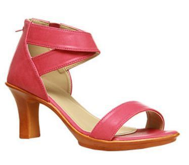 29f4a6bcdb Leather Formal Bata Pink Sandals For Women F761085300, Size: 3 4 5 6 ...