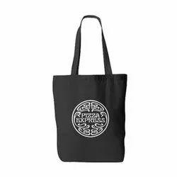Black Printed Fabric Bag