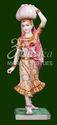 Marble Rajasthni Lady Statue