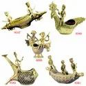 Bell Metal Craft Dhokra Art Handmade Lost Wax Casting Home Deocration Statues Figurines