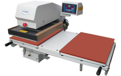 IMPRESS Semi-Automatic Automatic Double Tray Heat Transfer Press Machine,  Capacity: Double Bed, BPS54, Rs 93000 /number | ID: 4412572548
