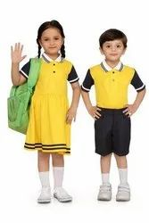 GARV-IT cotton blend with polyster School uniform house set, 22 to 42