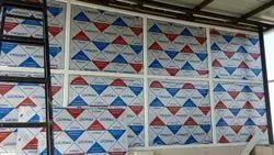 Aluminium Colored Partition Panel